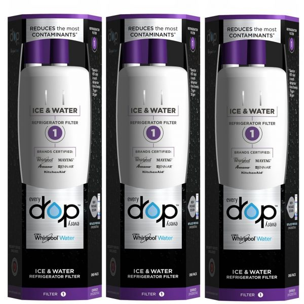 NEW Genuine EveryDrop Ice /& Water Refrigerator Filter 1 EDR1RXD1Pack