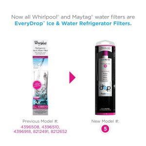 EveryDrop EDR5RXD1 Filter 5,Water Refrigerator Filter